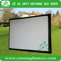 Outdoor Usage and Video Display Function Inflatable Movie Screen For Sale