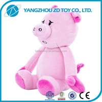 Cheap Wholesale new style OEM plush toy pink pig