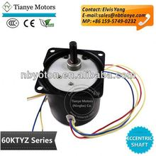 air conditioner engine TYZ60, TYD60, TY60 Gear Reduction Motor buyer confidence, copper enameled wire