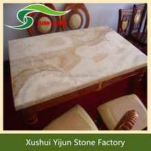 High Quality Family Design Marble Dinning Table Indoor Stone Table