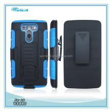 bulk cell phone case for LG VS880 with belt clip