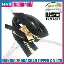 3# 4# 5# 7# 8# 10# fully polished teeth golden metal zippers bag zipper