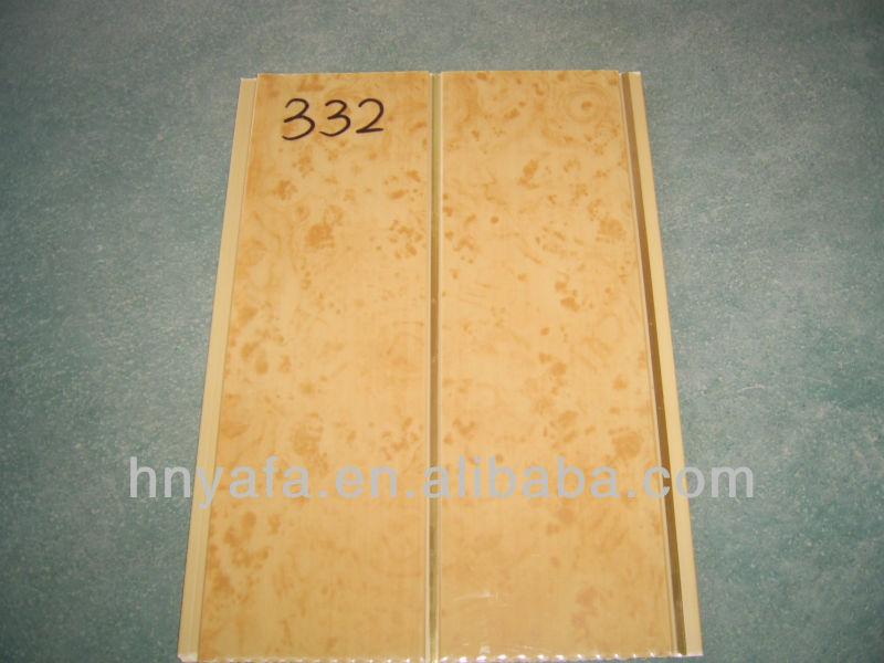 De madera de dise o de color del pvc tablero del techo de - Tablero de madera precio ...