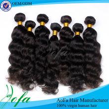 Hot sale natural 100% virgin remy kbl peruvian hair