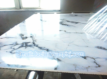 PVC UV Laminated Marble Surface Wall Panel/Decoration Panle/Bathroom Wall Panel Extrusion Line