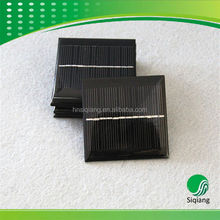 Custom shaped poly solar cells with high quality