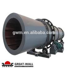 Construcción Civil rotary carbón secador