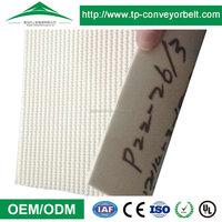 PVC conveyor belt used in food industry