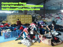Wholesale used clothes/shoes in bundle for export