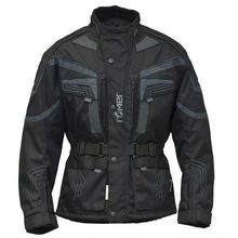 """Roemer """"New York"""" Motorcycle Jacket textile with leather elements, protectors, waterproof"""