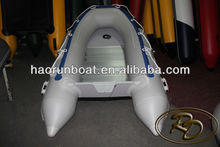 """8'11""""(8.8' ft) inflatable fishing boat dinghy raft with aluminum floor"""