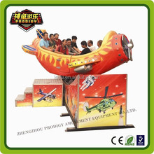 New arrival ! 10 capacity crazy plane indoor /outdoor amusement rides
