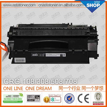 office supplies crg-108 for canon toner cartridge photocopy machine for canon toner cartridge