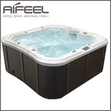 2015 new hot swim pool cold spa with sex massag video outdoor balcony hot tub