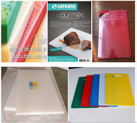 pp cutting board, 100% food grade safety easy clean flexible pp vegetable cutting board