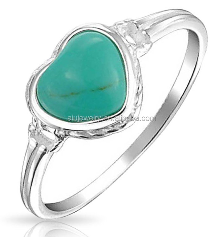anti tarnish gold sterling silver turquoise ring buy