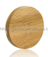 Wooden wireless charger for all QI enabled device power bank