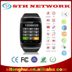 S12 watch Phone mobile smart watch bluetooth watch with alarm clock, calculator, pedometer