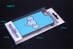 Quality guarantee customized cell phone plastic blister pacakging box