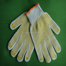 Gold Supplier! cotton safety gloves working equipment