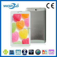 """China Cheap 3G 7"""" OEM Android Tablet PC Dual SIM Network Easy Make Phone Call"""