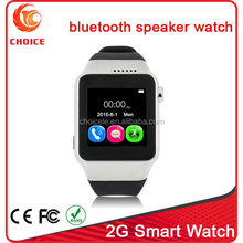 2015 new product colorful 2g smart watch type mobile phone