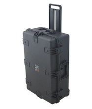 Large carrying Case for valuables with wheels & pull bar