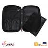 Latest fashion customized black makeup brush bag