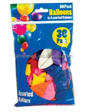 Jumbo Party Balloons Decorations - Coloured