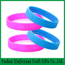 wholesale kids charm bracelet/silicone rubber recycled wristbands