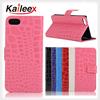 Hot New Products For 2015 Mobile Phone Leather Flip Case For Ipod Touch 6 Leather Case