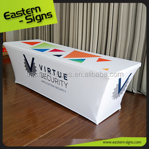 Custom Printing Trade Show Table Cover