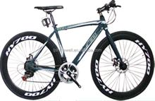 700c*28c steel frame racing bike road bicycle with 7 speed double wall rim