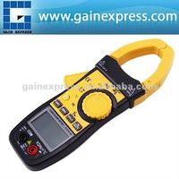 Auto Range Professional Multifunction Digital AC/DC Clamp Meter Multimeter Thermometer Ohm 3999 counts