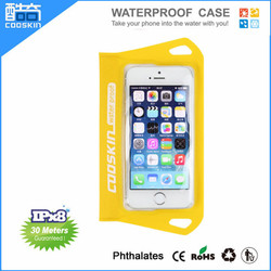 Cooskin New design moblie phone PVC waterproof phone bag