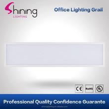 High lumens high bright back lit 35W led 300x1200 panel light with white aluminum frame