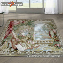 Antique French Wall Aubusson Tapestry