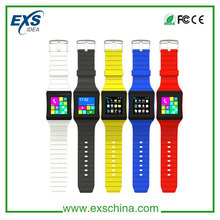 4 band MTK6572 android smart watch support google play android App