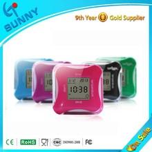 Sunny LCD Mini Kids Desktop Digital Calendar Alarm Clock