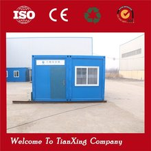 Low cost flat pack multi onestory prefabricated office 20ft container houses