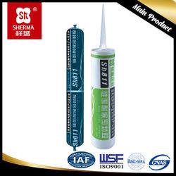 Good performance transparent silicone sealant