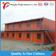good fire resistance property prefab shipping container house