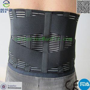 Medical Grade Breathable Lumbar Lower Back Pain Support Belt Brace