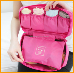 factory hot sell multifunctional travel bag bra underwear bag portable toiletry bag