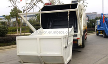 hydraulic system 266hp garbage truck cleaning