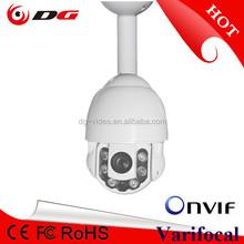 High Speed Mini IR IP PTZ Camera Image 1920 x 1080