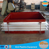 Rectangular metal expansion joint with stainless steel bellows