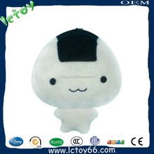 Shenzhen factory custom cheap japanese cartoon plush baby doll for keychain