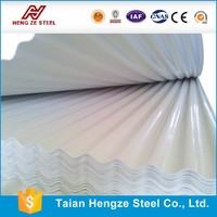 Galvanized /Color coated Roffing&Corrugated steel sheet with price From Shandong Manufacturer