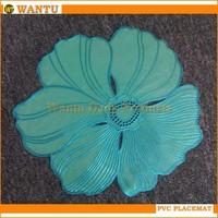 HH-001 Jinhua Fucun Shentangwu Wantu PVC Wholesale Mat Kitchen Tableware Eco-friendly Household Table Mat